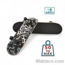 "Monopatín Skateboard 31"" Azul"
