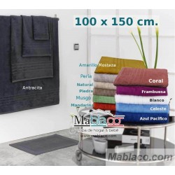 Toallas Baño 700gr 100% Algodón Egipcio 100x150