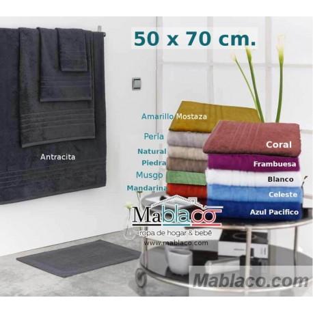 Alfombra de Baño 100% Algodón Egipcio 950gr 50x70
