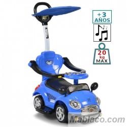 Triciclo evolutivo para niños Paradise Cartoon Toy Car Azul