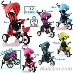 Triciclo con capota Flexy Lux +12 m