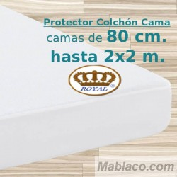 Protector Colchón Impermeable transpirable PU Supreme ROYAL