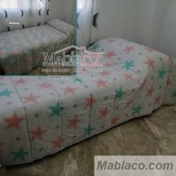 Edredón Comforter Estrella Reversible Geométrico