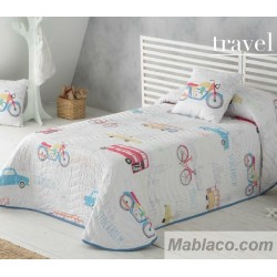 Colcha Bouti Infantil Travel Sandeco