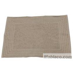 Alfombra de Baño 100% Algodón Alfa 50x70 Tierra