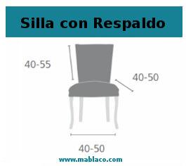 Funda de Silla con Respaldo Sucre