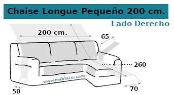 Cubre Chaise Longue Pequeño